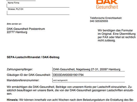 Downloads Fur Firmenkunden Dak Gesundheit